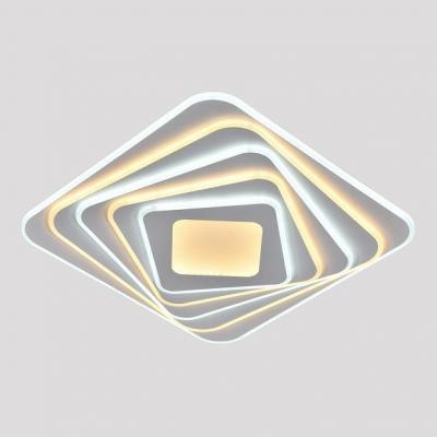 Потолочный светильник светодиодный Omnilux OML-09507-248 Mondello Белый LED 3000K-6000K 248 Вт с пультом