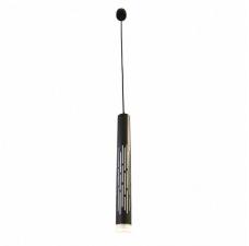 Подвесной светодиодный светильник Omnilux OML-101726-20 Borgia Черный LED 6400K 20 Вт