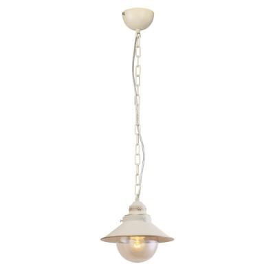 Подвесной светильник Omnilux OML-50806-01 Torri Кремовый E27 60 Вт