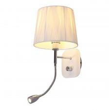 Бра Omnilux OML-62501-02 Correto Хром Е14+LED 40 Вт