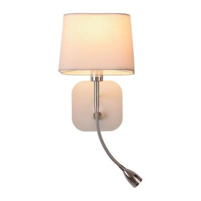Бра Omnilux OML-62601-02 Monteluco Хром Е14+LED 40 Вт