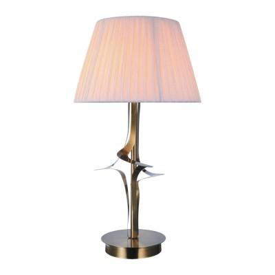 Настольная лампа Omnilux OML-63604-01 Grottole Бронза Е27 60 Вт