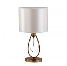 Настольная лампа Omnilux OML-63814-01 Mellitto Бронза E27 60 Вт