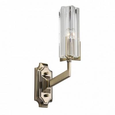 Бра Omnilux OML-69901-01 Ledro матовое золото E14 40 Вт
