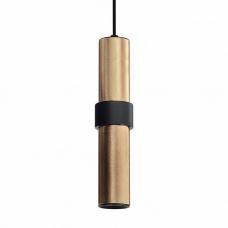 Подвесной светодиодный светильник Omnilux OML-84316-05 Albenga золото GU10 5 Вт
