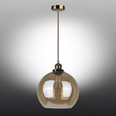 Подвесной светильник Omnilux OML-92006-01 Manarola Бронза E27 60 Вт