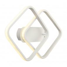 Бра светодиодное Omnilux OML-02901-24 Aversa Белый LED 4000K 24 Вт