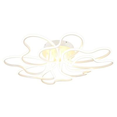 Потолочная люстра светодиодная Omnilux OML-04307-160 Folgaria Белый LED 4000K 160 Вт