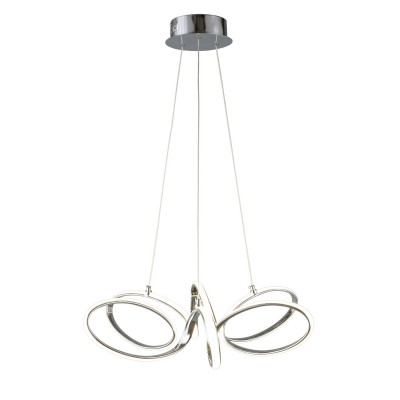 Подвесная люстра светодиодная Omnilux OML-04403-69 Scopello Белый LED 4000K 69 Вт