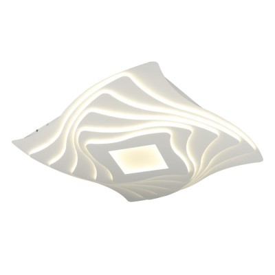 Потолочный светильник светодиодный Omnilux OML-07807-410 Benevello Белый LED 3000K-6400K 410 Вт с пультом
