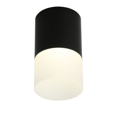 Потолочный светильникOmnilux OML-100019-05 Ercolano Черный LED 4000K 5 Вт