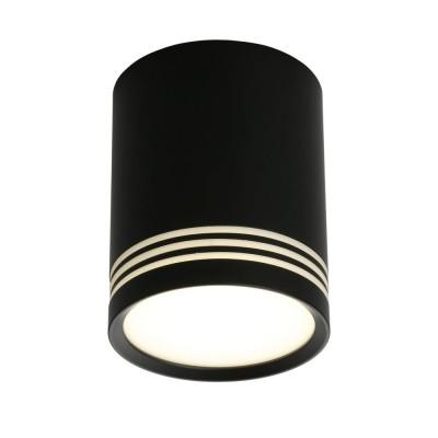 Потолочный светильникOmnilux OML-100119-12 Fortezza Черный LED 4000K 12 Вт