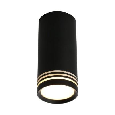 Потолочный светильникOmnilux OML-100819-01 Olona Черный GU10 50 Вт