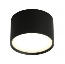 Потолочный светильникOmnilux OML-100919-06 Salentino Черный LED 4000K 6 Вт