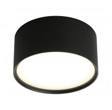 Потолочный светильникOmnilux OML-100919-12 Salentino Черный LED 4000K 12 Вт