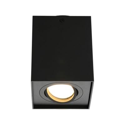 Потолочный светильникOmnilux OML-101119-01 Feletto Черный GU10 50 Вт