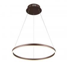 Подвесная люстра светодиодная Omnilux OML-19203-54 Cianciana Коричневый LED 54 Вт с пультом