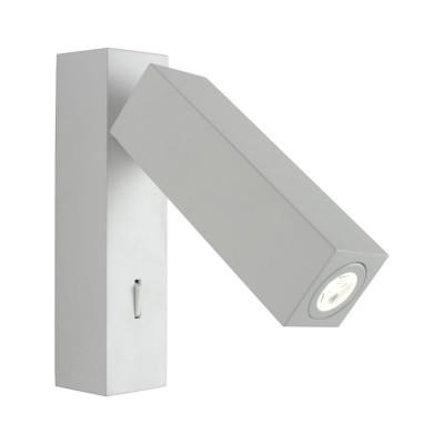 Светильник настенный Omnilux OML-20901-02 Tartago Белый LED 4000K 3 Вт с выключателем