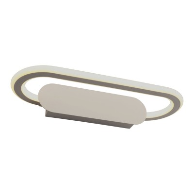 Бра светодиодное Omnilux OML-24611-18 Catona белый матовый LED 4000K 18 Вт