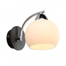 Бра Omnilux OML-25401-01 Caldiero хром+черный E27 60 Вт