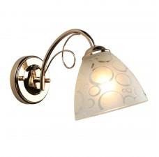 Бра Omnilux OML-29001-01 Castellaro золото E27 60 Вт