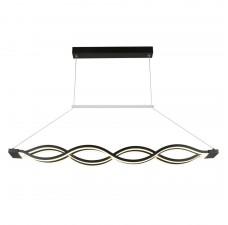 Подвесная люстра светодиодная Omnilux OML-47013-72 Grassington Черный LED 4200K 72 Вт