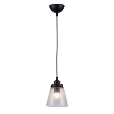 Подвесной светильник Omnilux OML-51006-01 Borgo Черный E27 40 Вт