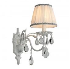 Бра Omnilux OML-60811-01 Cremona Белое серебро E14 40 Вт