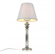 Настольная лампа Omnilux OML-64204-01 Rivoli Хром Е27 60 Вт