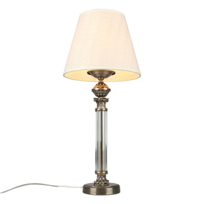 Настольная лампа Omnilux OML-64214-01 Rivoli Бронза Е27 60 Вт