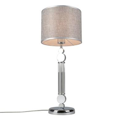 Настольная лампа Omnilux OML-64504-01 Scario Хром Е27 60 Вт