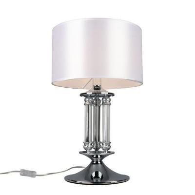 Настольная лампа Omnilux OML-64704-01 Alghero Хром Е14 40 Вт