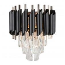 Бра Omnilux OML-81801-02 Certaldo золото+черный хром E14 40 Вт