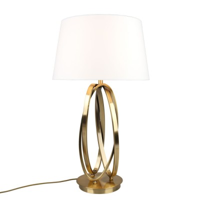 Настольная лампа Omnilux OML-83704-01 Bardolino золото Е27 40 Вт