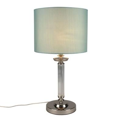 Настольная лампа Omnilux OML-87604-01 Cantello Хром E27 60 Вт