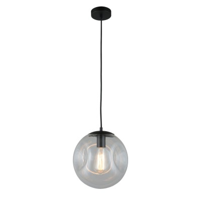 Подвесной светильник Omnilux OML-91706-01 Chivasso Черный E27 60 Вт