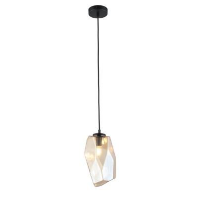 Подвесной светильник Omnilux OML-91806-01 Corropoli Черный E14 60 Вт