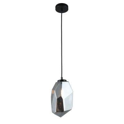 Подвесной светильник Omnilux OML-91816-01 Corropoli Черный E14 60 Вт