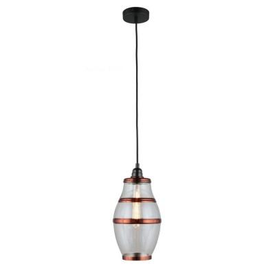 Подвесной светильник Omnilux OML-91906-01 Lainate Черный E27 60 Вт