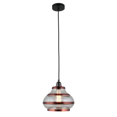 Подвесной светильник Omnilux OML-91916-01 Lainate Черный E27 60 Вт