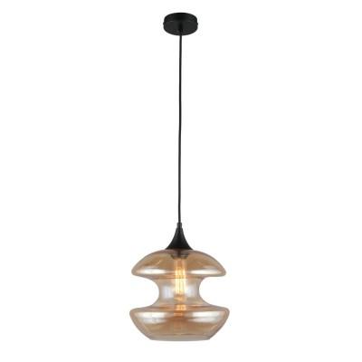 Подвесной светильник Omnilux OML-91926-01 Lainate Черный E27 60 Вт