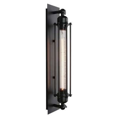 Бра лофт Omnilux OML-92601-01 Talamone Черный E27 60 Вт