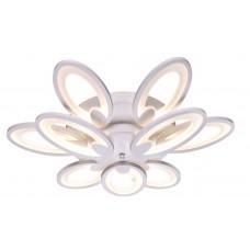 Потолочная светодиодная люстра с пультом Omnilux OML-45807-120 Glastonbury белый 120 Вт