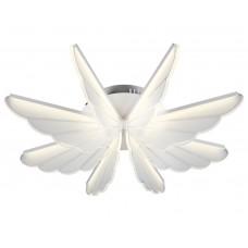 Потолочная светодиодная люстра с пультом Omnilux OML-48207-80 Aritzo белый 80 Вт
