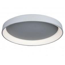 Потолочный светодиодный светильник с пультом Omnilux OML-48517-144 Ortueri серый 144 Вт 4000К