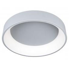 Потолочный светодиодный светильник с пультом Omnilux OML-48517-72 Ortueri серый 72 Вт 4000К
