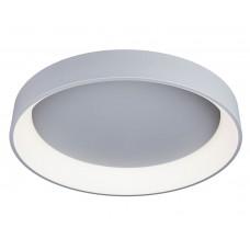 Потолочный светодиодный светильник с пультом Omnilux OML-48517-96 Ortueri серый 96 Вт 4000К