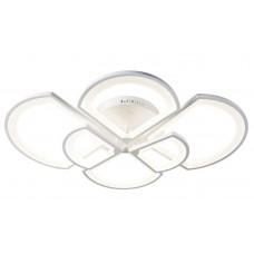 Потолочная светодиодная люстра с пультом Omnilux OML-49207-144 Cargeghe белый 144 Вт
