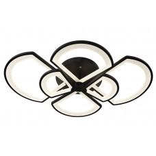 Потолочная светодиодная люстра с пультом Omnilux OML-49217-144 Cargeghe черный 144 Вт