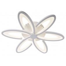 Потолочная светодиодная люстра с пультом Omnilux OML-49307-60 Florinas белый 60 Вт